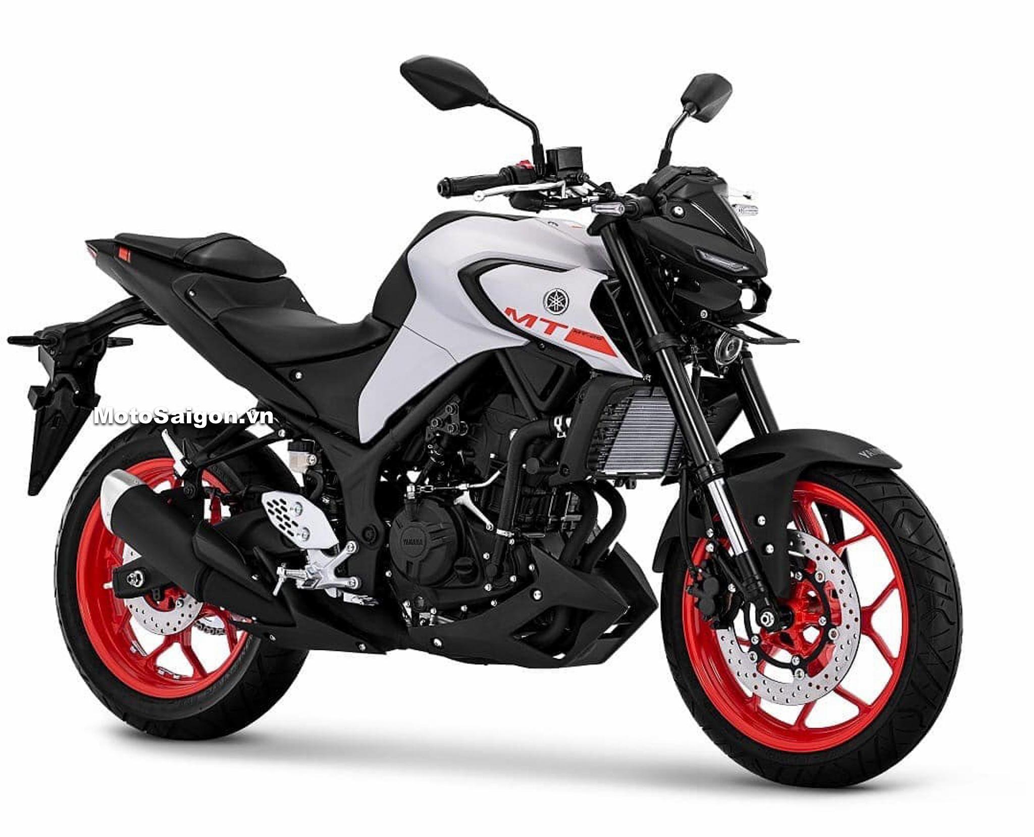 Yamaha MT-25 2020 tương tự MT-03 bất ngờ ra mắt kèm giá bán