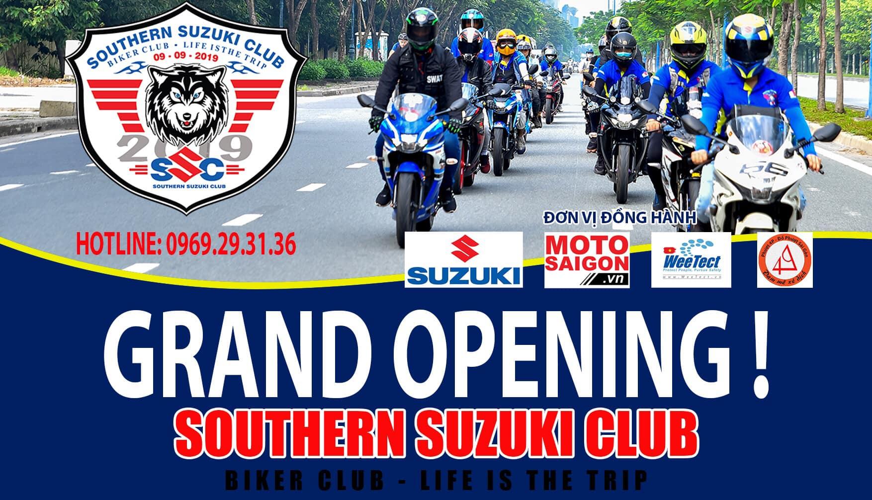 Southern Suzuki Club SSC quy tụ những người đam mê xe Suzuki