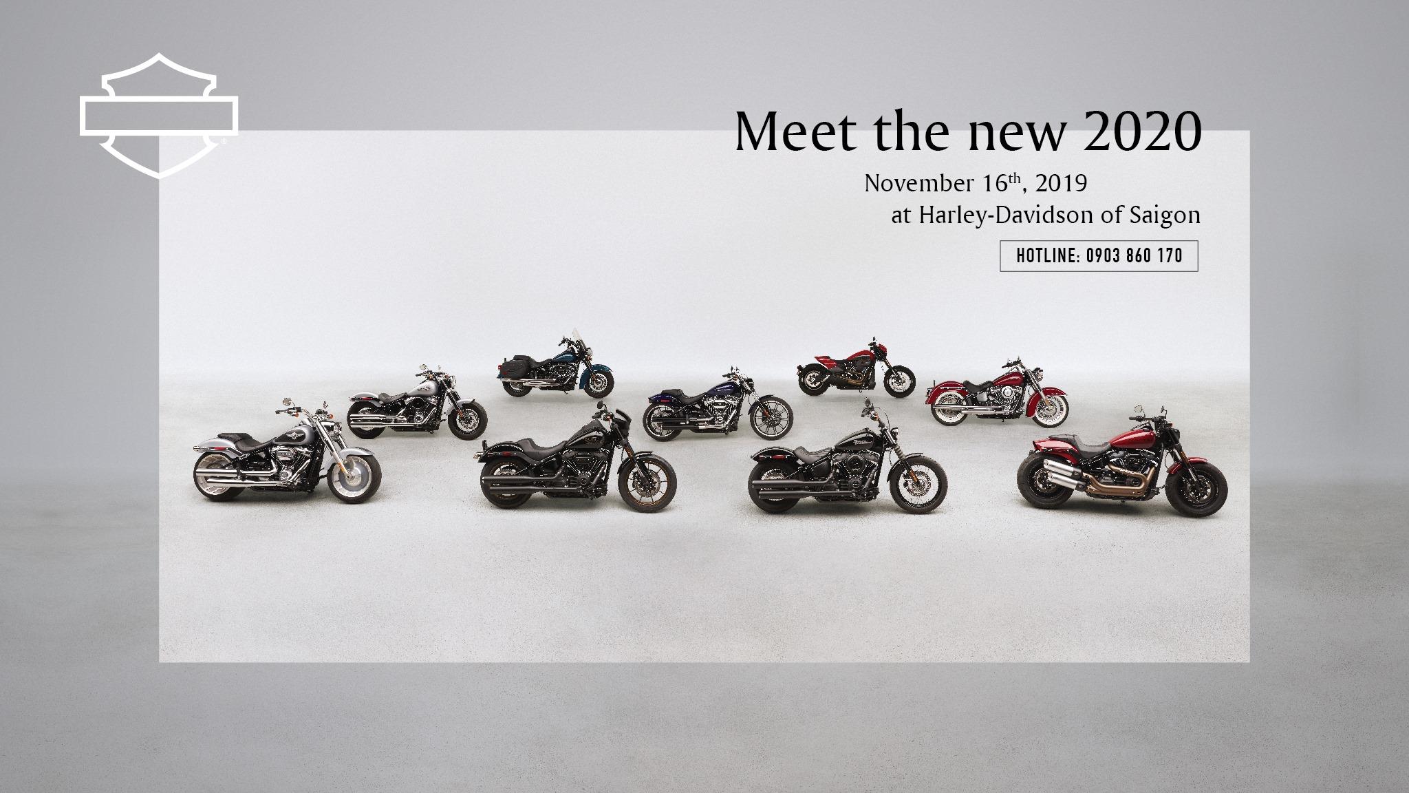 Harley-Davidson Việt Nam sắp ra mắt loạt xe mới 2020 kèm giá bán