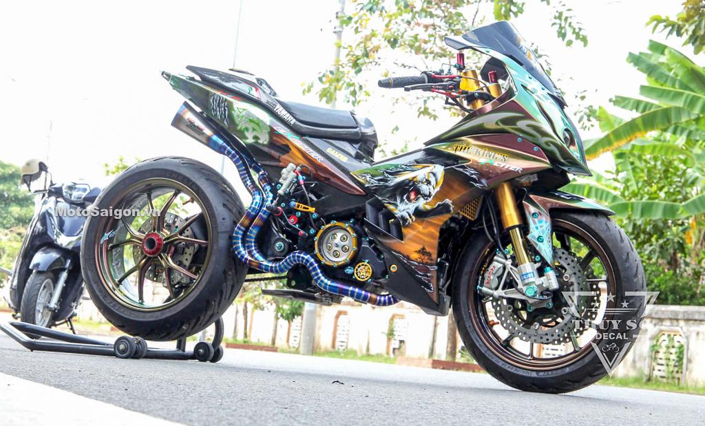 Exciter độ phong cách moto pkl BMW S1000RR nhiều đồ chơi