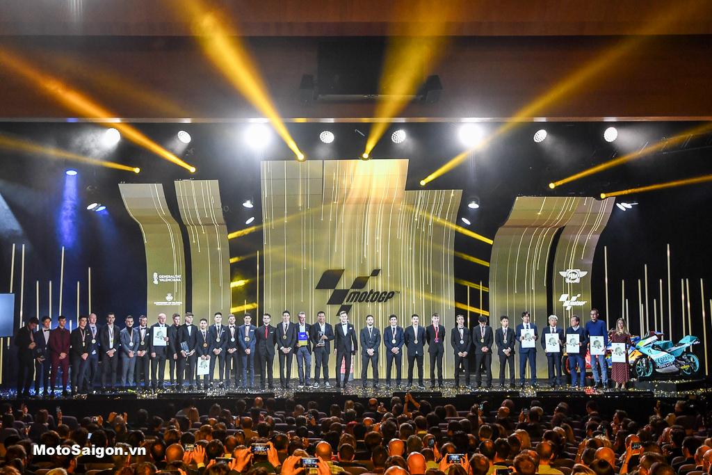 Toàn cảnh Lễ trao giải FIM MotoGP 2019 anh em nhà Marquez tỏa sáng