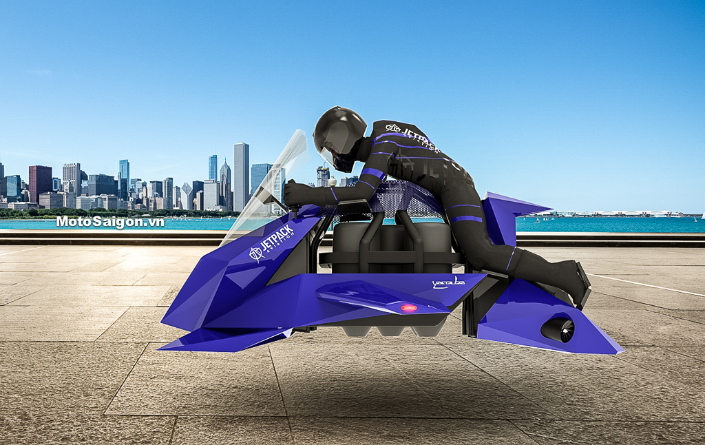 Moto bay Jetpack Speeder đã cho đặt hàng giá bán 9 tỉ đồng