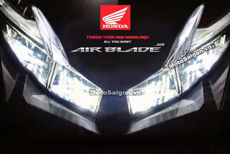 Honda Airblade 150 2020 giống Winner X sẽ ra mắt cuối tuần này?