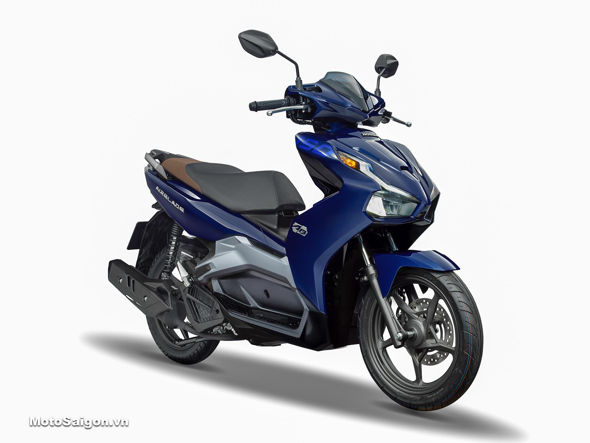 Honda Air Blade 150 ABS tiêu chuẩn màu xanh bạc 2020