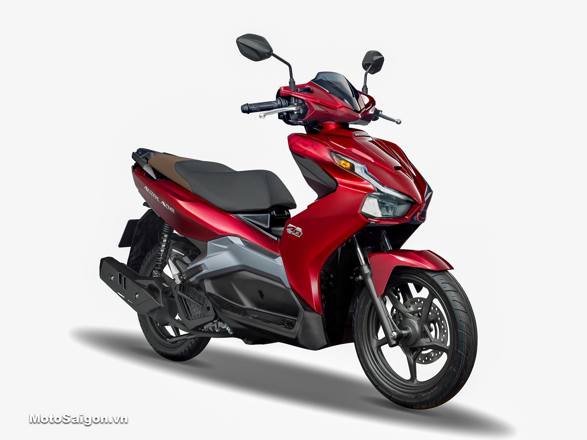 Honda Air Blade 150 ABS tiêu chuẩn màu đỏ bạc 2020