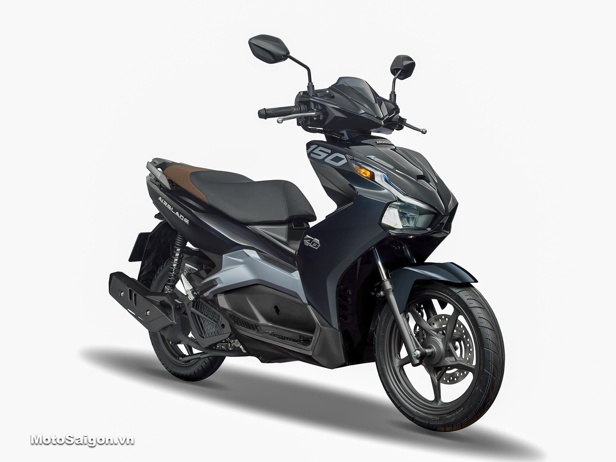 Honda Air Blade 150 ABS tiêu chuẩn màu đen bạc 2020