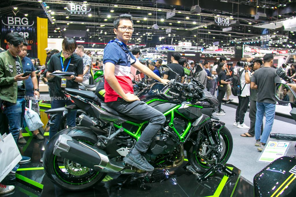 Trên yên đánh giá nhanh Kawasaki Z H2 giá bán 703 triệu đồng