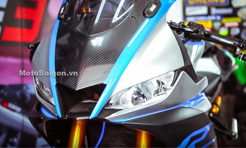 Yamaha R3 mẫu mới độ lên đuôi R1 2019 đẹp cỡ nào?