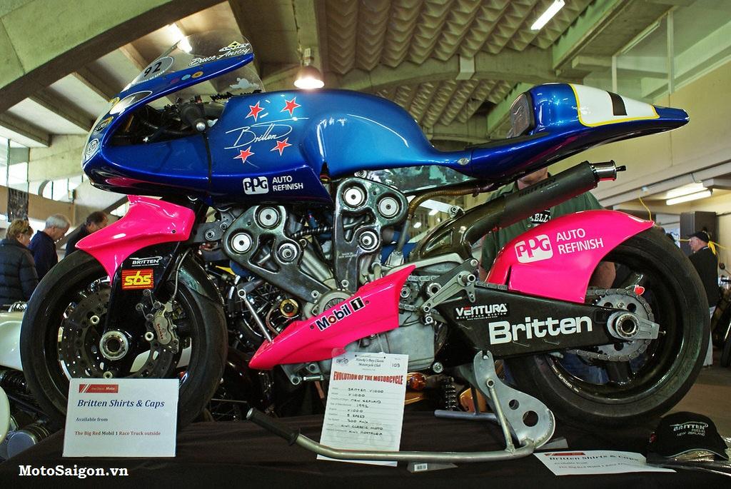 Britten V1000: Chiếc mô tô được chế tạo thủ công xuất sắc nhất lịch sử