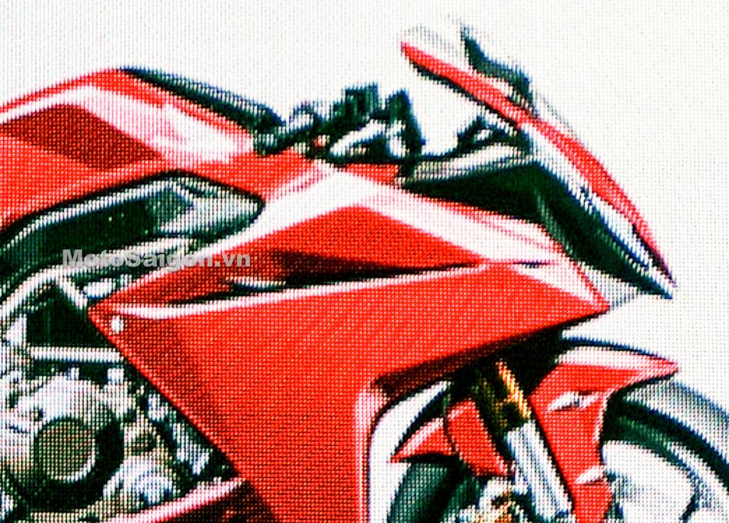 Honda CBR250RR-R trang bị động cơ V-Twin 250cc lộ ảnh thực tế