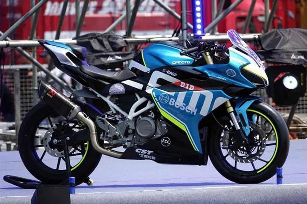 CFMoto bất ngờ ra mắt 2 mẫu sportbike 250SR và 300SR