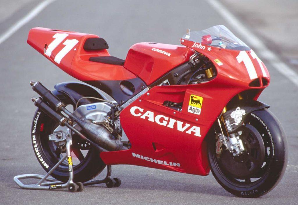 Mẫu xe Cagiva 500 GP lừng danh một thời