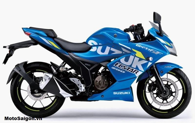 Suzuki Gixxer SF250Suzuki Gixxer SF250 trong phối màu Triton Blue Metallic