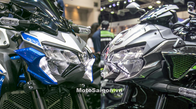 So sánh ngoại hình Z900 SE 2020 vs Z H2 có gì mới? kèm giá bán