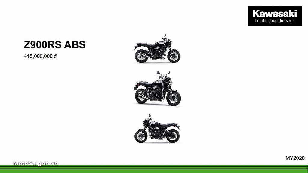 Giá xe Kawasaki Z900RS ABS mới nhất hôm nay 2020