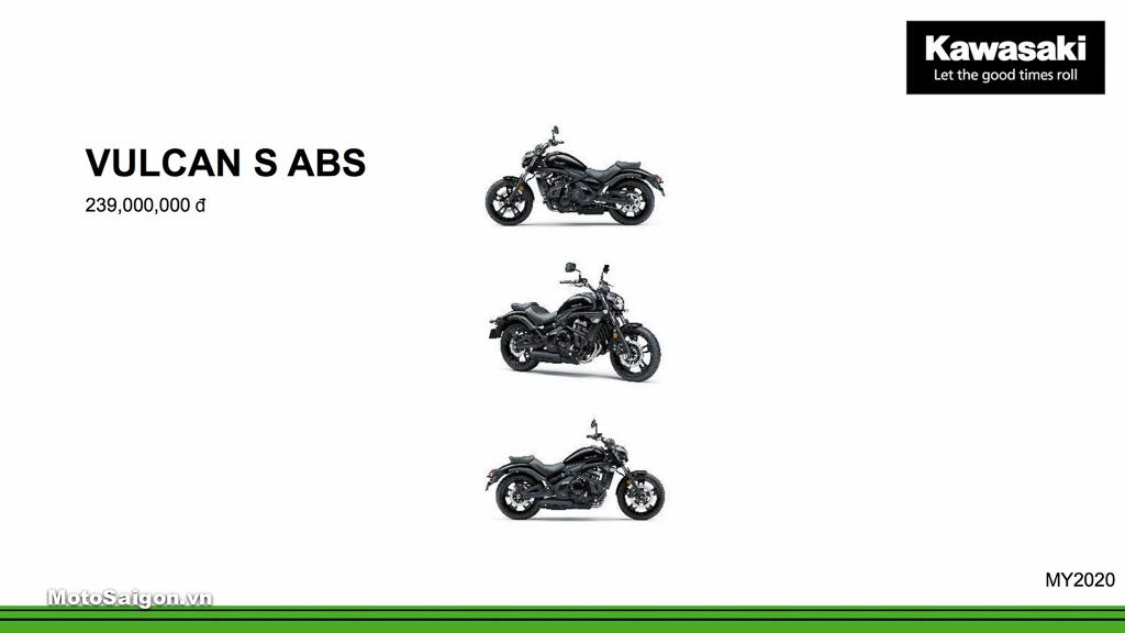 Giá xe Kawasaki Vulcan S ABS mới nhất hôm nay 2020