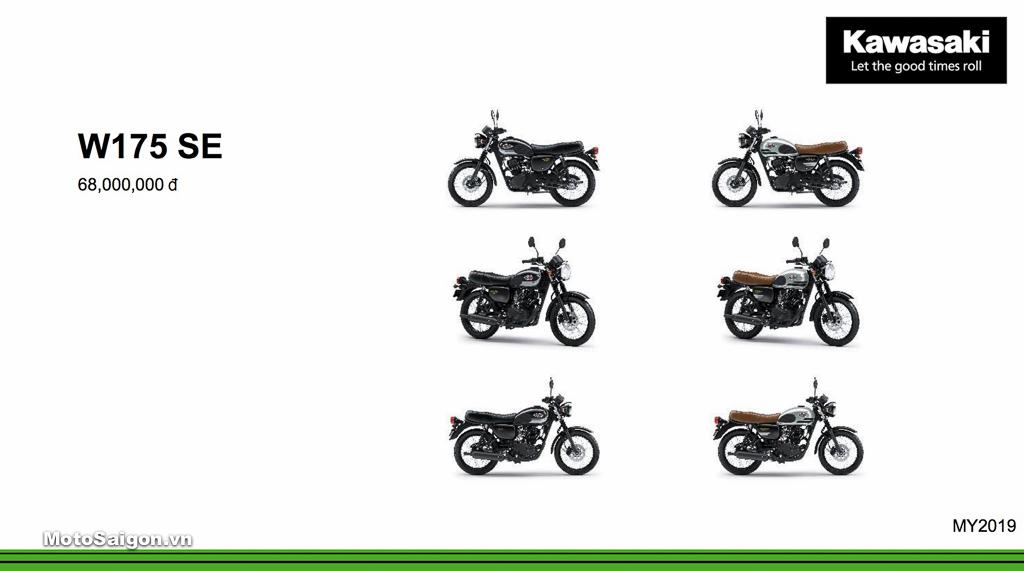 Giá xe Kawasaki W175 SE mới nhất hôm nay 2020