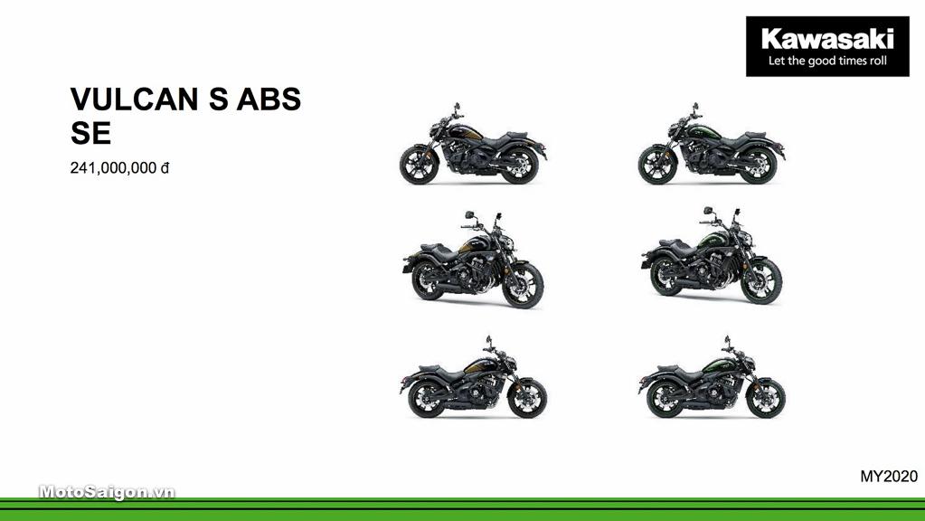 Giá xe Kawasaki Vulcan S ABS SE mới nhất hôm nay 2020