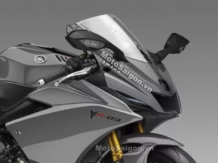 Yamaha R3 2021 sẽ được trang bị động cơ 3 xilanh đấu với ZX-25R