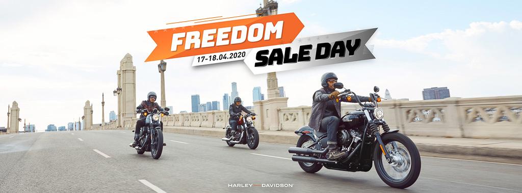 Freedom Sale – Chương trình ưu đãi duy nhất trong tháng 4 đến từ thương hiệu Harley-Davidson