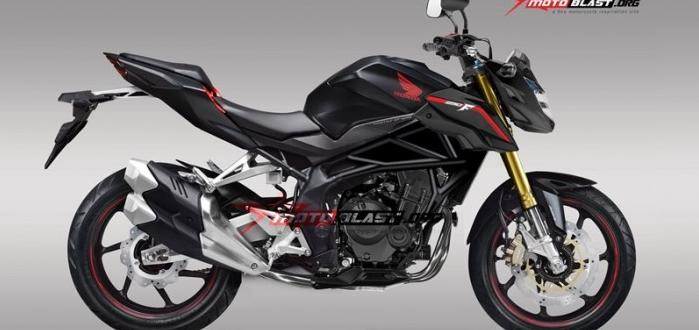 Hình ảnh dự đoán của Honda CB250RR trên chuyên trang motoblast.org