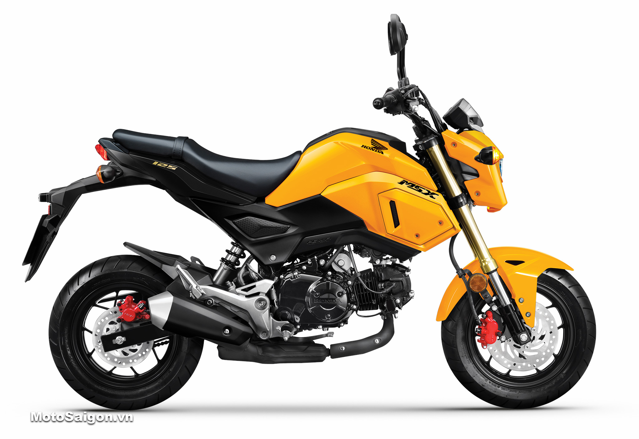 Honda MSX 125 2020 màu đen vàng