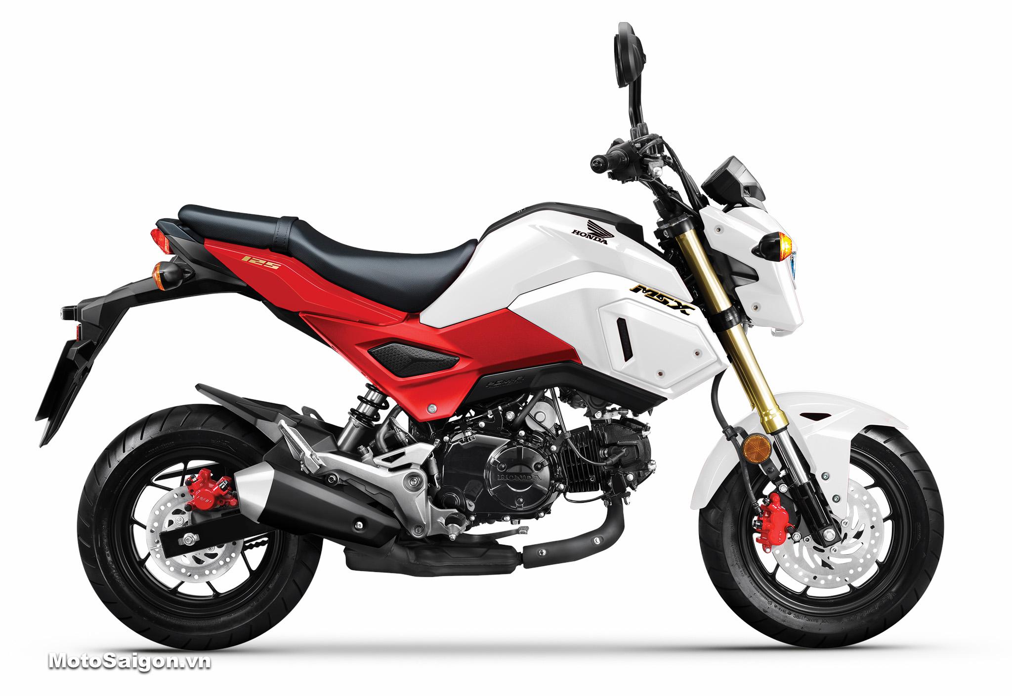Honda MSX 125 2020 màu trắng đỏ