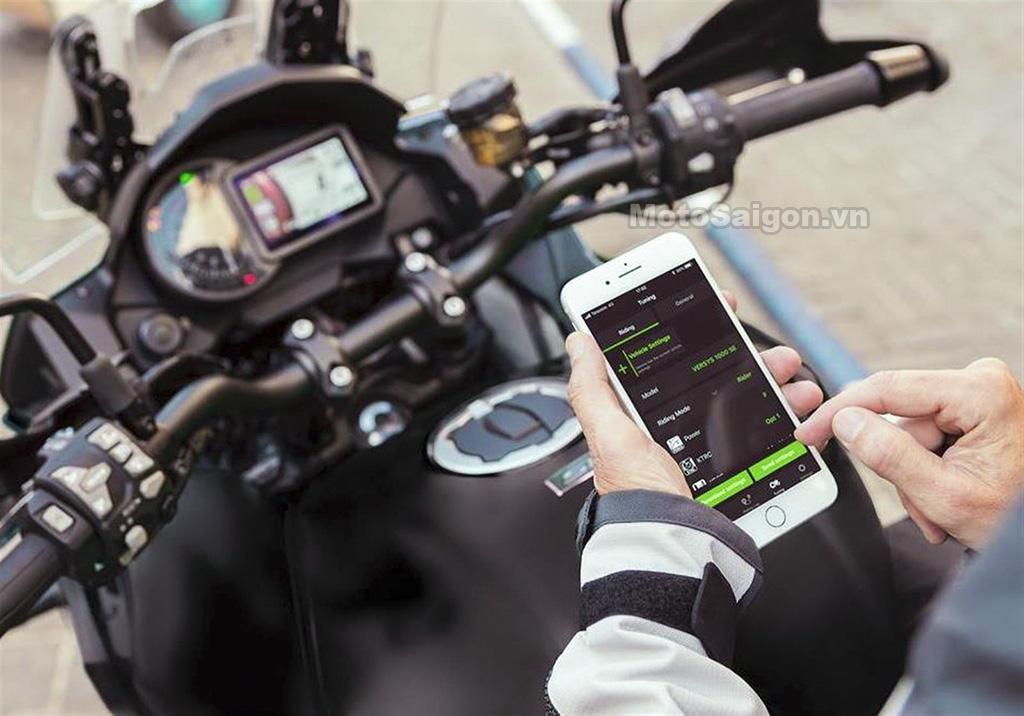 Clip hướng dẫn sử dụng ứng dụng Kawasaki Rideology App