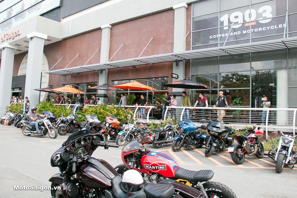 Khai trương 1903 Cafe - Thêm địa điểm hội họp lý tưởng dành cho dân mê moto pkl