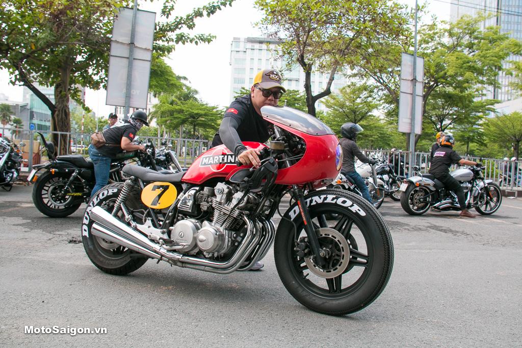 Honda CB750 Martini bản độ Cafe Racer