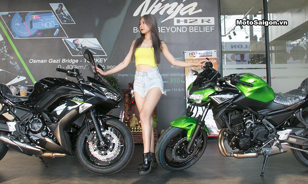 Khám phá Kawasaki Ninja 650 & Z650 2020 đầu tiên Việt Nam có gì mới? Speed Angels: Tuệ Nghi