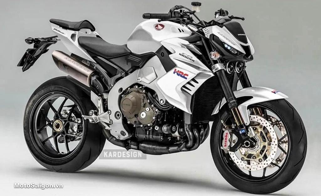 Honda CB1000R-R phiên bản naked thể thao của CBR1000RR-R