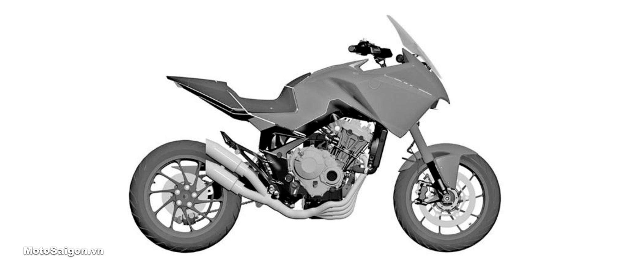 Honda CB650X dùng chung động cơ 4 xilanh với CB650R?