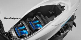 Xe điện Honda PCX với bộ pin nhiên liệu hydro