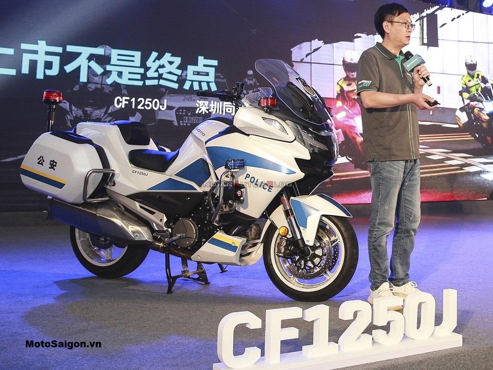 CFMoto 1250TR-G 2021 ra mắt tại Trung Quốc