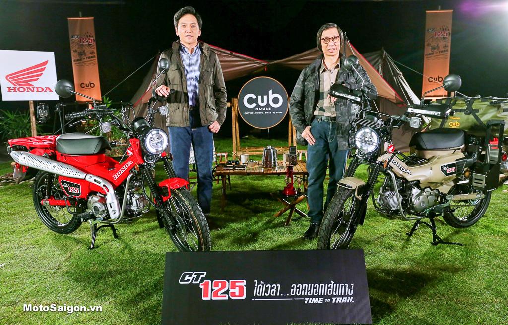 Giá xe Honda CT125 2020 đã được công bố gồm 3 phiên bản lựa chọn