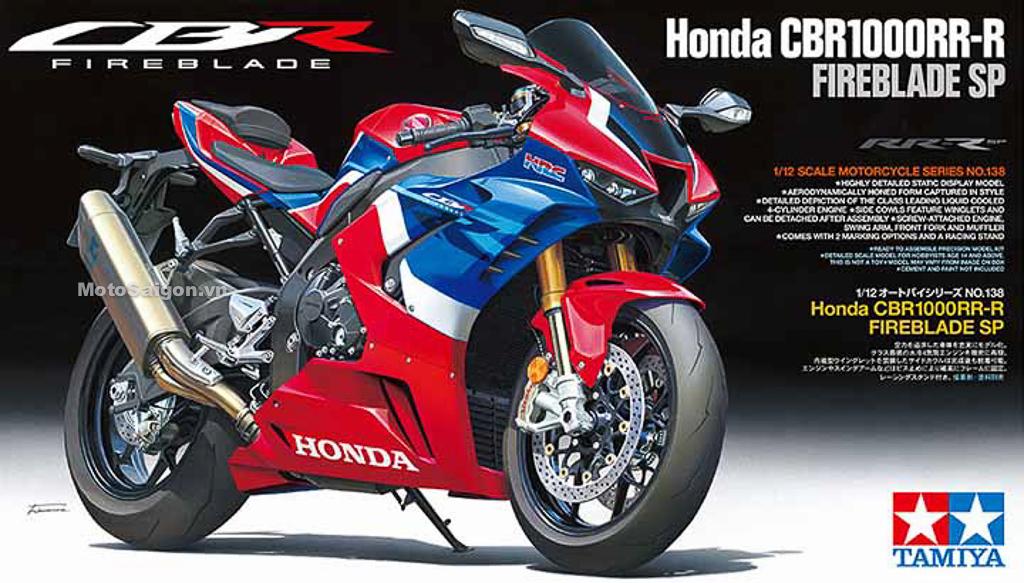 Honda CBR1000RR-R SP 2020 phiên bản mô hình kèm giá bán