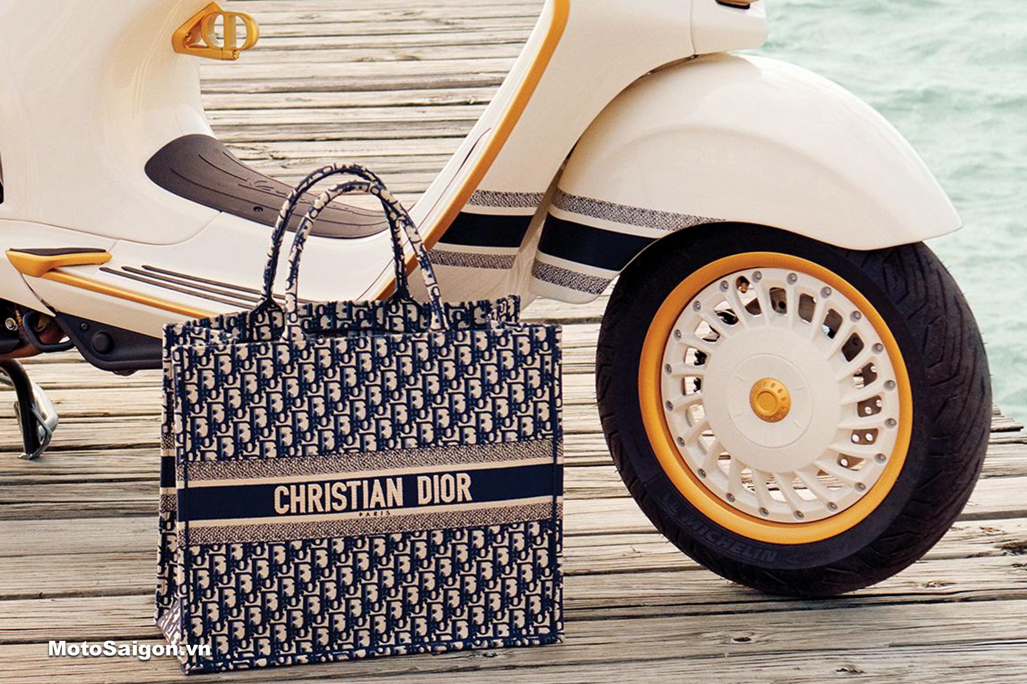 Vespa 946 Christian Dior khiến các nàng phát cuồng vì quá đẹp ...