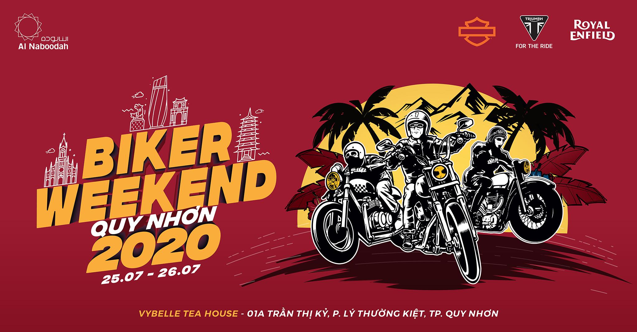 BIKER WEEKEND QUY NHƠN 2020 Đại hội moto với quy mô lớn sẽ diễn ra trong 2 ngày