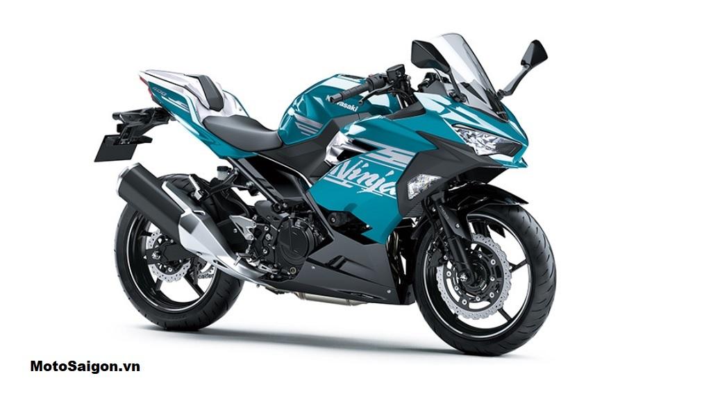 Kawasaki Ninja 400 2020 trong màu sơn Candy Plasma Blue tại Úc