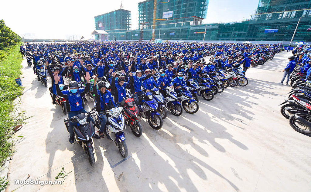 Thành viên Y-Riders Club có nhiều đặc quyền và cơ hội tham gia những hoạt động của Yamaha