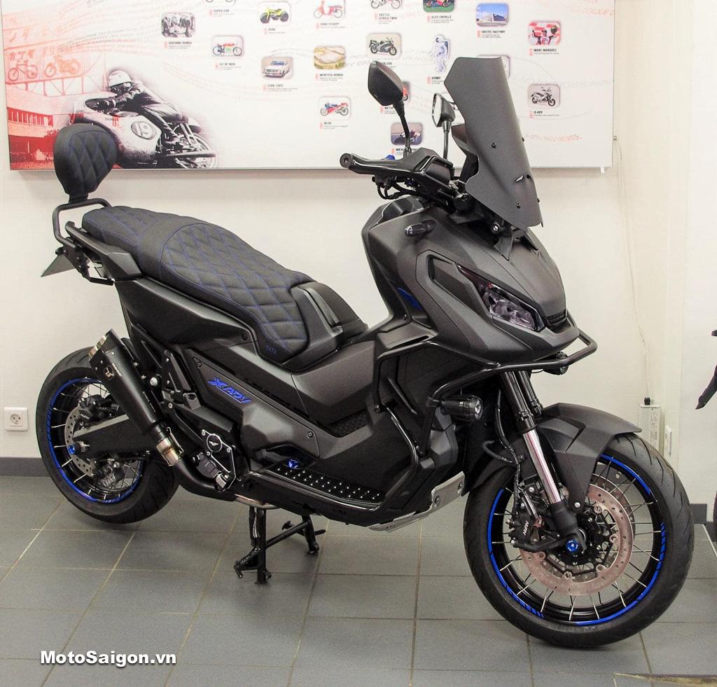 Honda X-ADV Full Black độ đen toàn thân cực ngầu