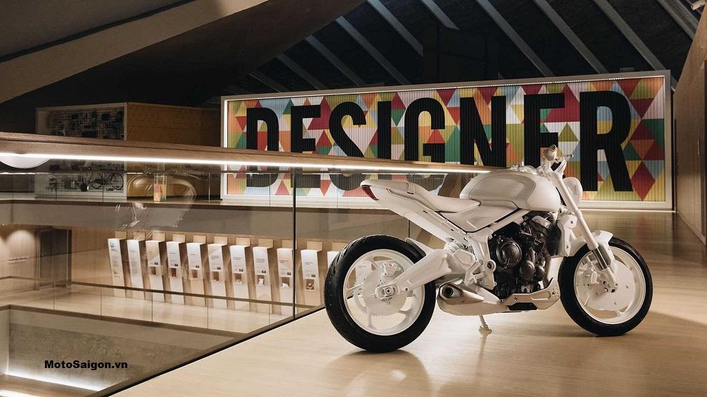 Concept Triumph Trident tại Bảo tàng Thiết kế Luân Đôn