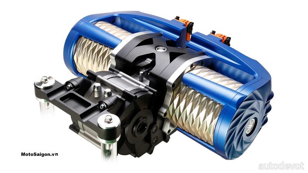 Động cơ điện đang được phát triển của Yamaha cho công suất tối đa lên đến 268 mã lực