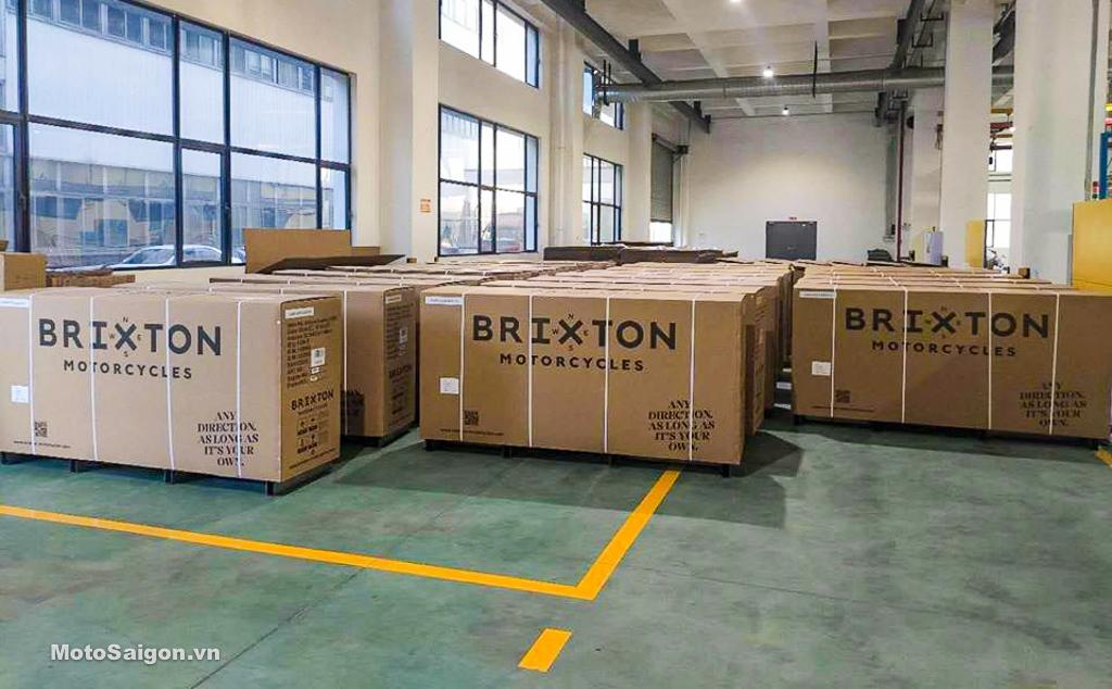 Brixton BX500 CrossFire chuẩn bị đổ bộ Việt Nam