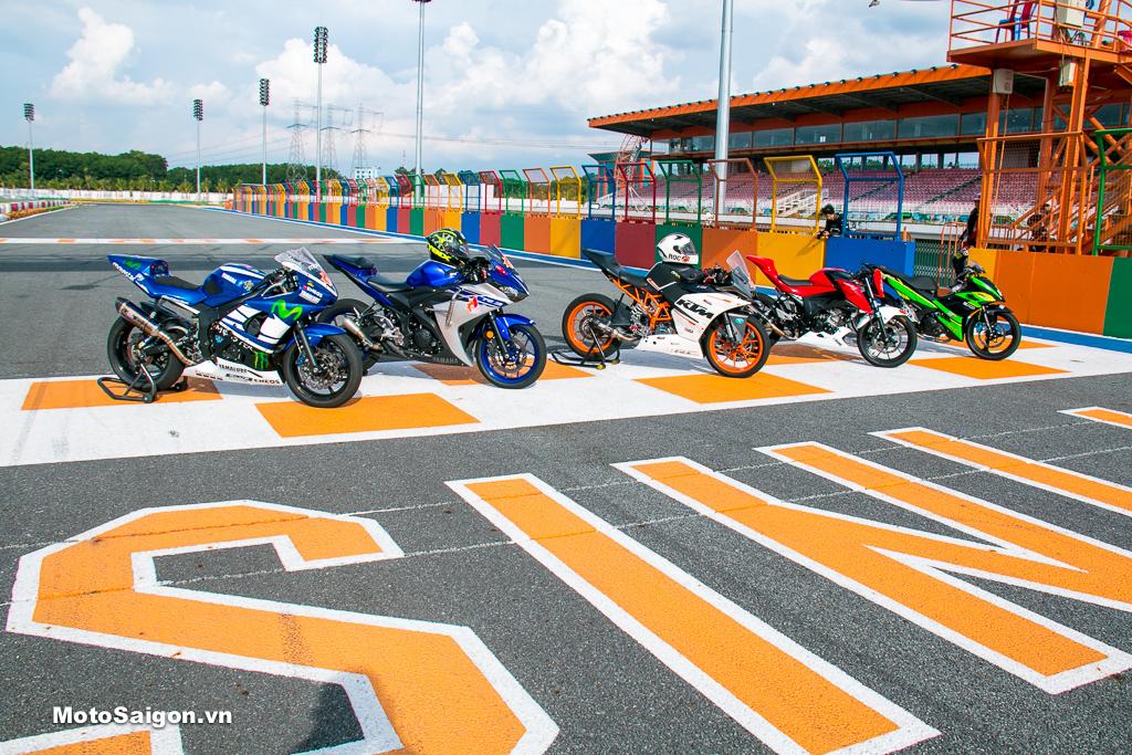 Myride Academy Saigon ra mắt dịch vụ cho thuê xe đua đạt chuẩn chạy Track