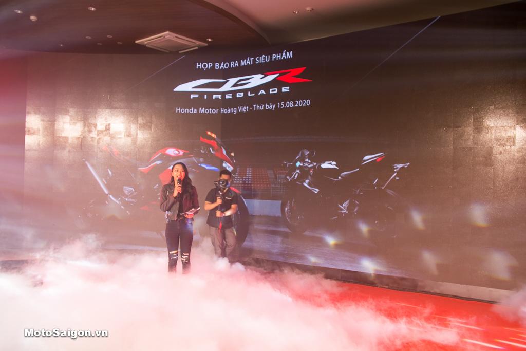 CBR1000RR-R Fireblade chính thức ra mắt tại Honda Motor Hoàng Việt
