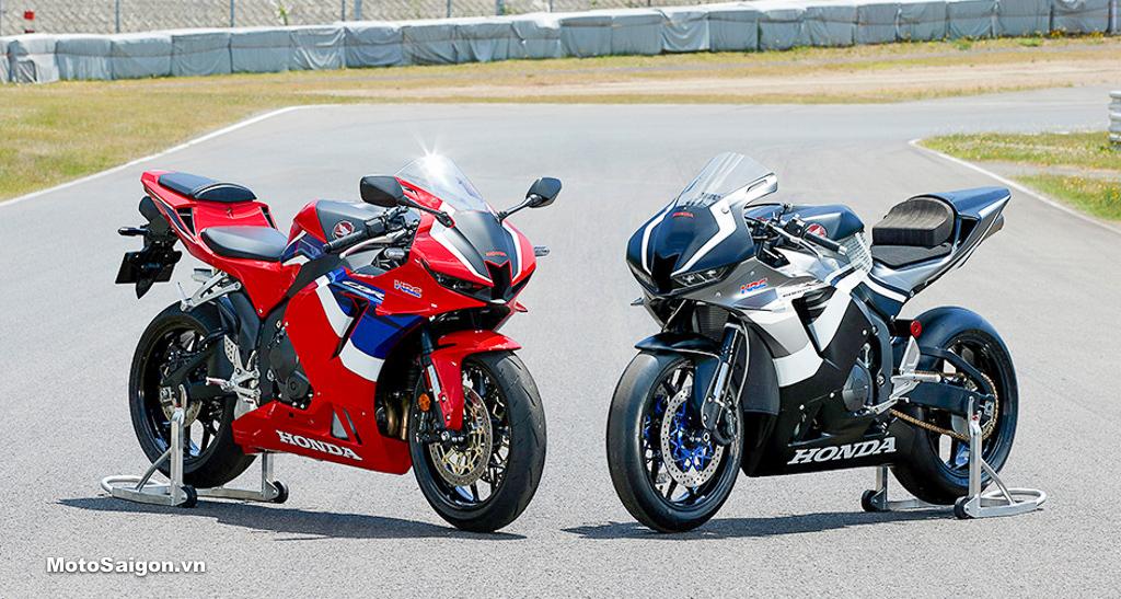 Giá xe Honda CBR600RR 2020 - bất ngờ có thêm bản Race CBR600RR-R