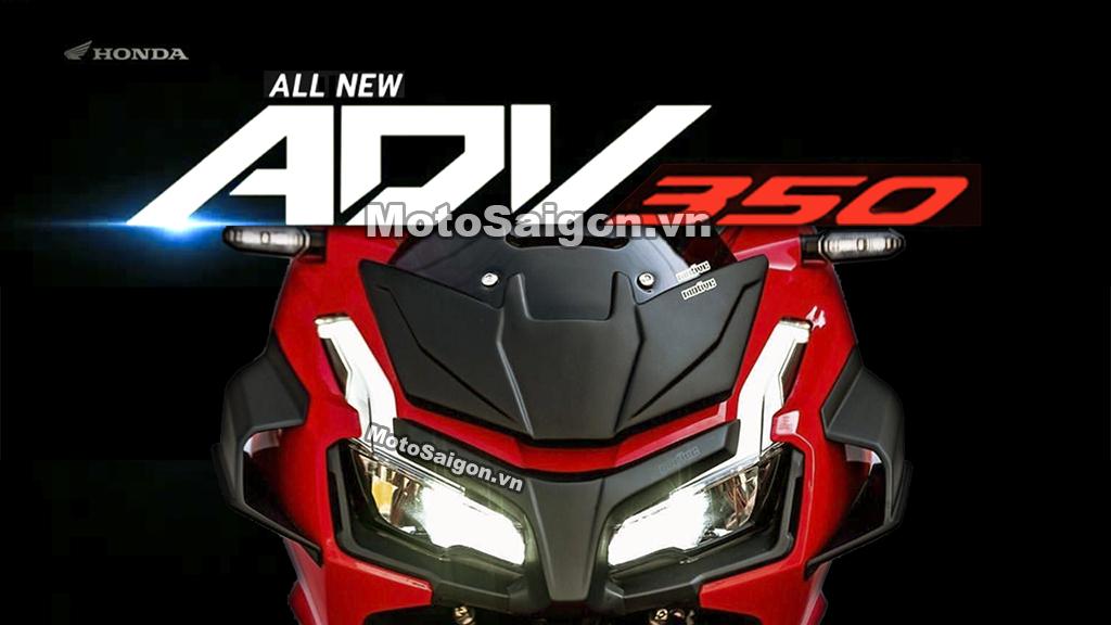 Honda ADV 350 dùng chung cấu hình với Forza 350 2020