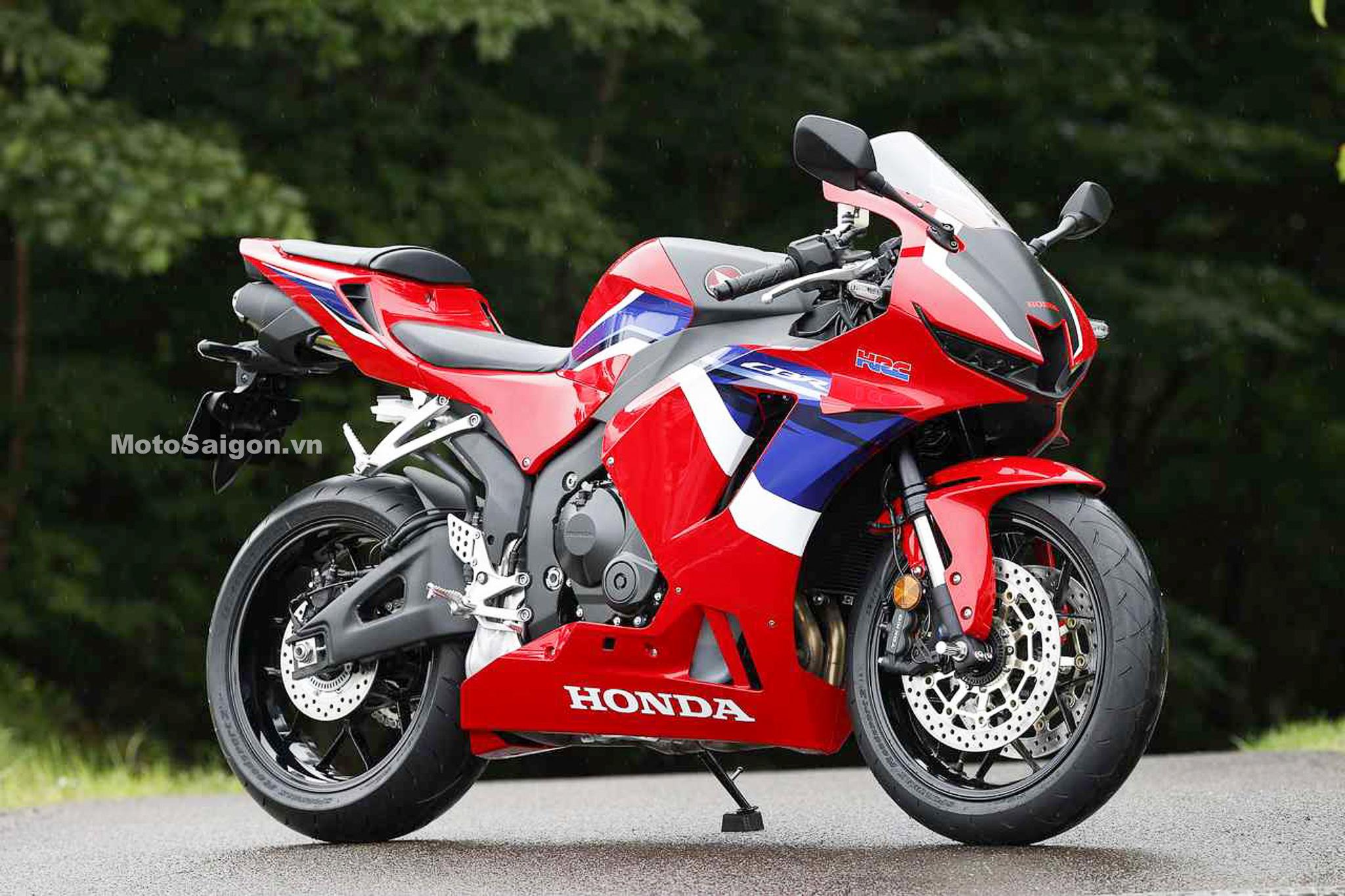 Hình ảnh Honda CBR600RR 2021 trước ngày công bố giá bán